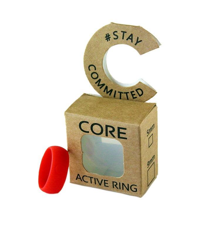 core-bulk-fahrenheit-red-silicone-ring