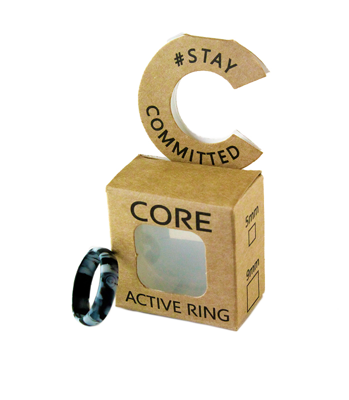 core-lean-fused-black-silicone-ring